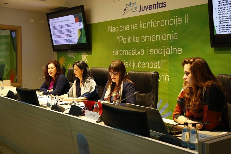 Učešće na konferenciji o smanjenju socijalne isključenosti