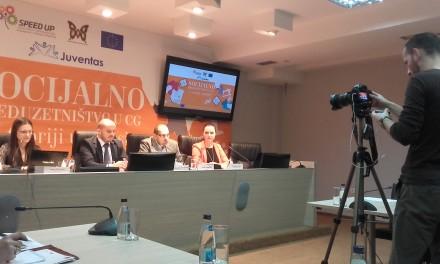 """Održan okrugli sto """"Socijalno preduzetništvo u Crnoj Gori – u teoriji i praksi"""""""