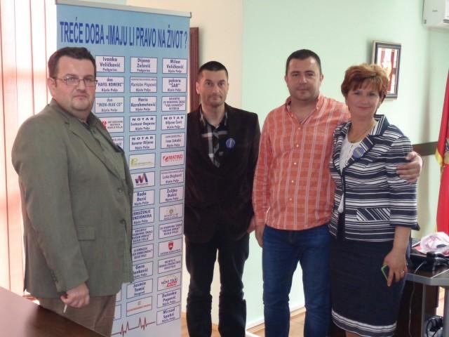 Domu starih u Bijelom Polju, doniran defibrilator