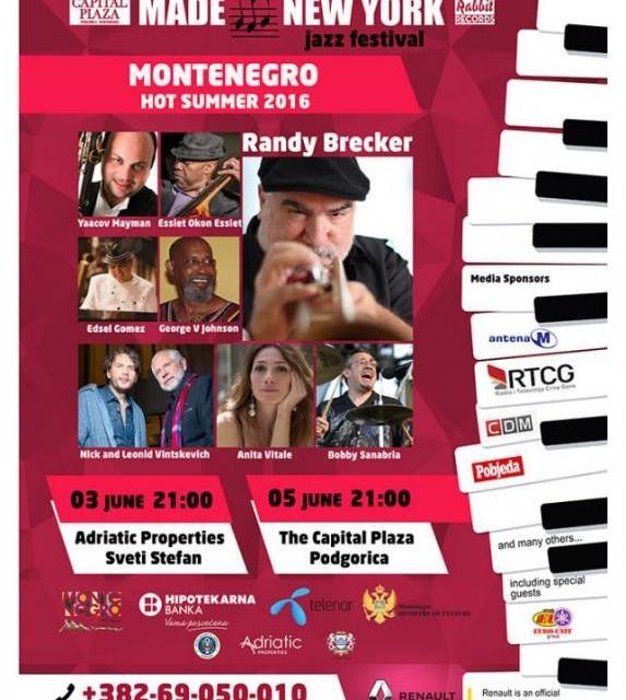 U prodaji karte za Made in New York Jazz Festival