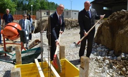 Kamen temeljac Doma za starije u Pljevljima