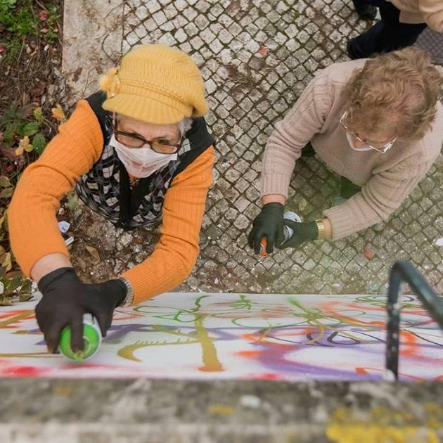 Bake koje crtaju grafite haraju Portugalom