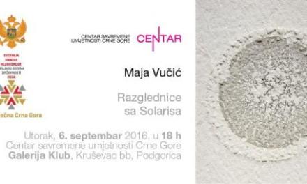 Crteži Maje Vučić u galeriji Klub