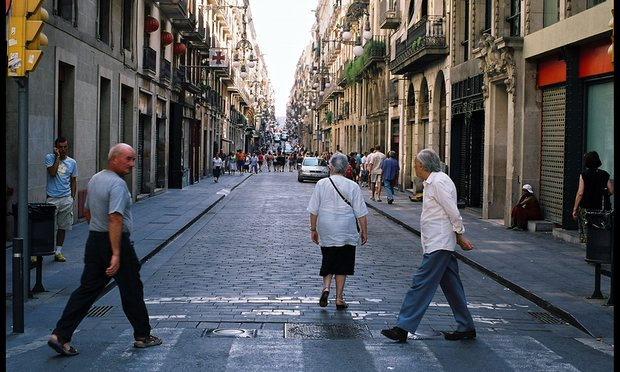 Barcelona, foto: Martin Godwin for the Guardian