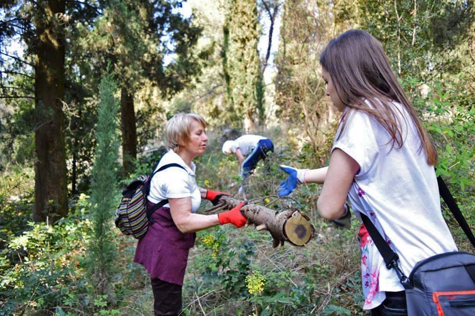Priprema terena za Mediteranski vrt