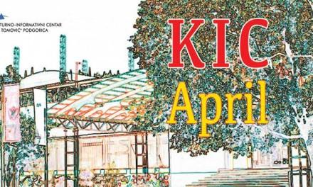 KIC – repertoar za april