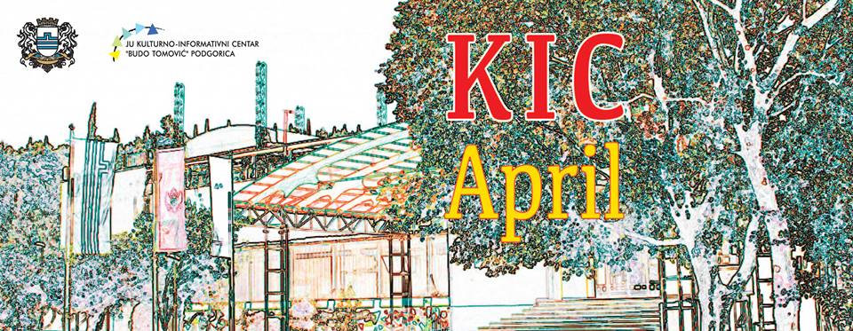 KIC – repertoar za april