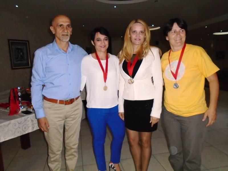 Medalje za Snežanu i Milenu