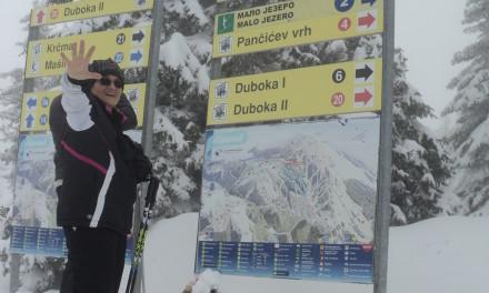 Na skijama i u sedmoj deceniji