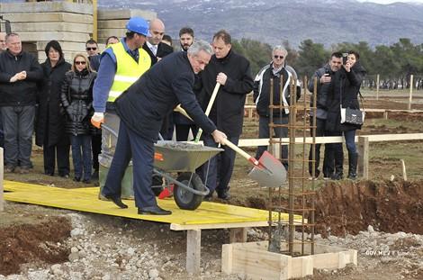 Postavljen kamen temeljac za izgradnju Doma za stare u Podgorici